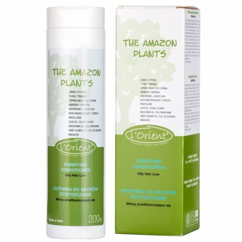 AMAZON PLANTS ODŻYWKA DO WŁOSÓW oczyszczająca