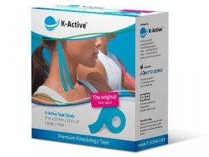 K-Active Kinesiology Tape kolor niebieski 5cm/17 m (Nitto)