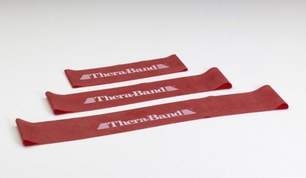 Loop - 7,6 x 20,5 cm obręcz taśma Thera Band czerwona