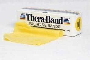 Taśma Rehabilitacyjna TB 5,5 m żółta opór słaby