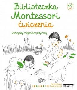Odkrywaj bogactwo przyrody. Ćwiczenia. Biblioteczka Montessori