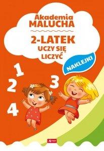 2-latek uczy się liczyć akademia malucha