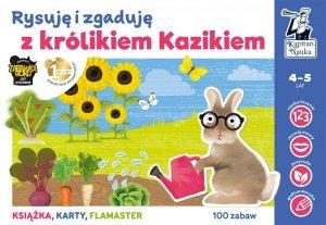 Rysuję i zgaduję z królikiem kazikiem Kapitan Nauka
