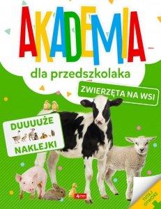 Zwierzęta na wsi. Akademia dla przedszkolaka