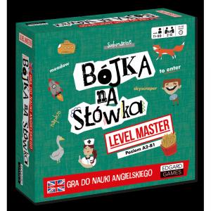 Bójka na słówka Level Master Gra do nauki angielskiego Edgard Games