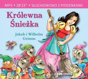 CD MP3 Królewna śnieżka. Słuchowisko z piosenkami