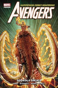 Dookoła świata. Avengers. Tom 2