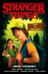 Obóz naukowy. Stranger Things komiks