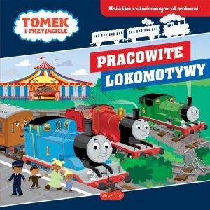 Pracowite lokomotywy. Tomek i przyjaciele. Książka z otwieranymi okienkami