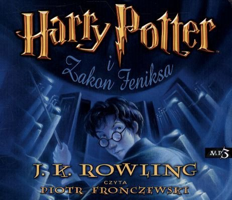 CD MP3 Harry Potter i zakon feniksa Tom 5