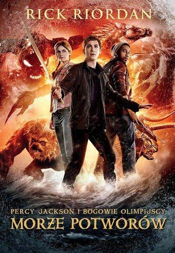 Morze potworów Percy jackson i bogowie olimpijscy Tom 2 Okładka filmowa