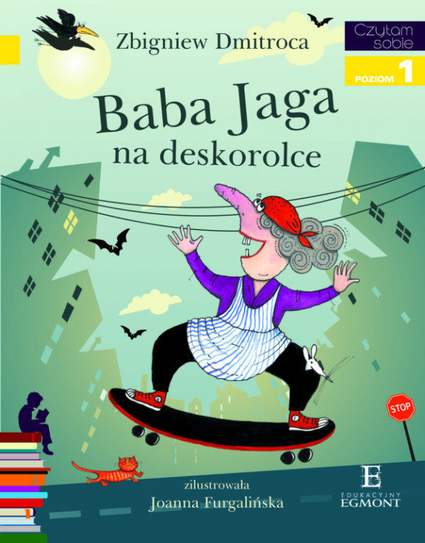 Baba jaga na deskorolce czytam sobie poziom 1