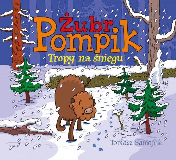 Tropy na śniegu Żubr Pompik