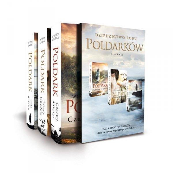 Pakiet Dziedzictwo Rodu Poldarków tomy 5-7