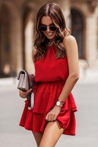 Sukienka Komplet Model Costa 298 Red - IVON