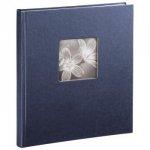 Album tradycyjny niebieski na spirali fineart 29x32 50 białych stron