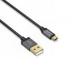 Kabel metalowy Micro USB 0.75m - Hama