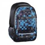 Plecak Szkolny Selby Kolor: Blue Pixel
