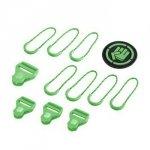 Coocazoo Zestaw Elementów Wymiennych Classic, Irish Green Do Plecaków Z Systemem Matchpatch