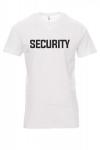 Koszulka biała - znakowanie - SECURITY