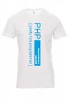 Koszulka biała - php pretty hot programmer