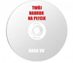 Płyta DVD z nadrukiem w pełnym kolorze