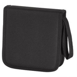 Hama cd-wallet 16 cd nylon czarny 116640000