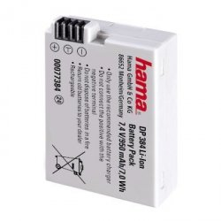 Hama akumulator 7,4v/950mah, canon lp-e8 + gratis