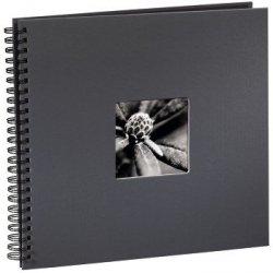 Hama album fine art 36x32/50 szary czarne kartki