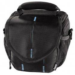 Hama torba canberra 100 colt czarna/niebieska + gratis
