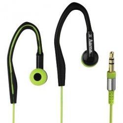 Słuchawki douszne clip-on  hk3203  zielone