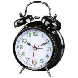 Zegar budzik nostalgia czarny