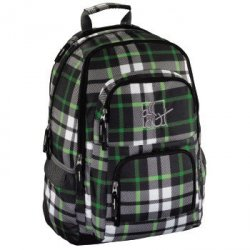 louth backpack, forest check