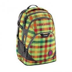 Plecak szkolny EvverClevver 2 Hip To Be Square Green - Coocazoo