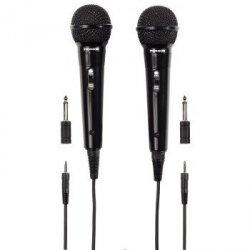 Thomson m135 - mikrofon dynamiczny karaoke 3m, zestaw 2 szt. 1317720000