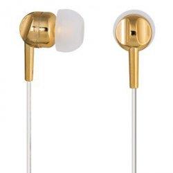 Słuchawki dokanałowe ear3005gd złote