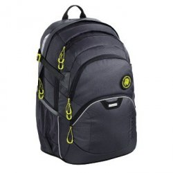 COOCAZOO plecak JobJobber II, kolor: SOLID Shadowman, system MatchPatch