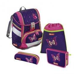 Zestaw szkolny 2w1 4-częciowy Shiny Butterfly - Step by Step Hama