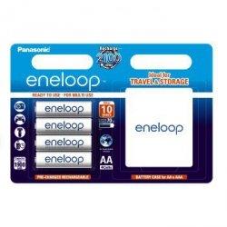 Akumulator Panasonic Eneloop AA 4 szt. + futeral
