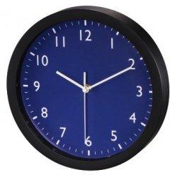 Zegar ścienny pure, Ø 25 cm, cichy, granatowy