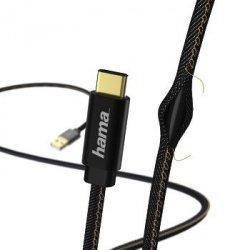 Kabel ładujący/data jeans type-c, 1.5 m