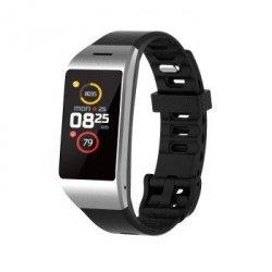 Mykronoz zeneo srebrny/czarny smartwatch