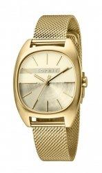 Damski zegarek Esprit ES Infinity Gold Mesh - L ES1L038M0095