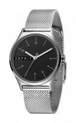 Damski zegarek Esprit ES Essential czarny srebrny Mesh - L ES1L034M0065