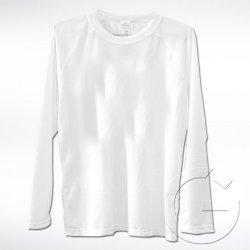 Biała koszulka z długim rękawem Lord. Rozmiar: XL