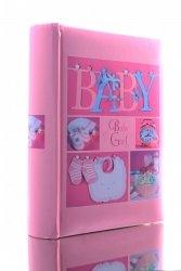 Album dla dziewczynki 10x15 na 300 zdjęć z opisem - szyty