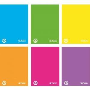 Brulion A5 w kratkę 96 kartek Color Blocking - Herlitz