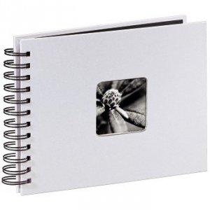Album 24x17/50 Fine Art Biały czarne strony - Hama