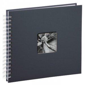 Album 28x24/50 Fine Art szary białe strony - Hama