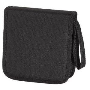 Hama cd-wallet 16 cd nylon czarny 116640000